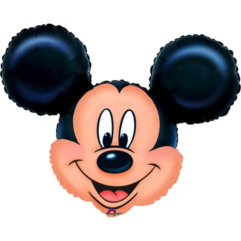 "Globo Metálico Cumpleaños Personaje Mickey mouse 36"" Met"
