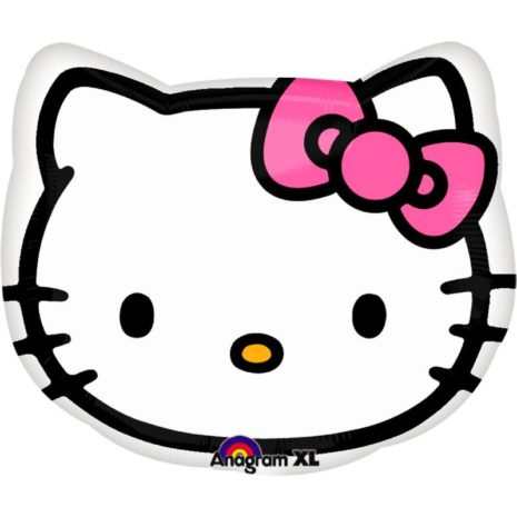 "Globo Metálico Hello kitty 20"""