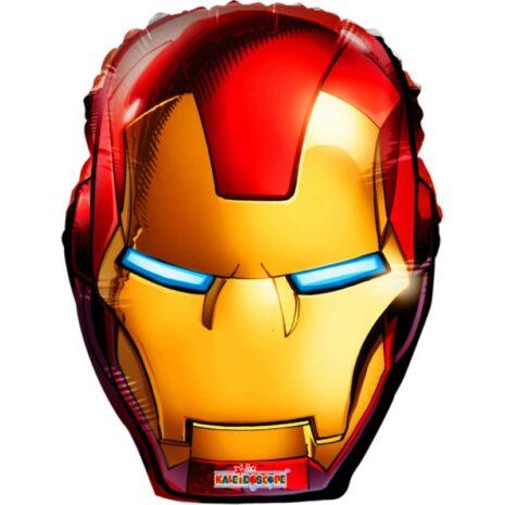 "Globo Metálico Cumpleaños Personaje Iron man 09"""
