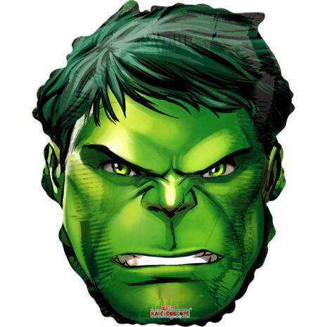 """Globo Metálico Hulk 18"""""""