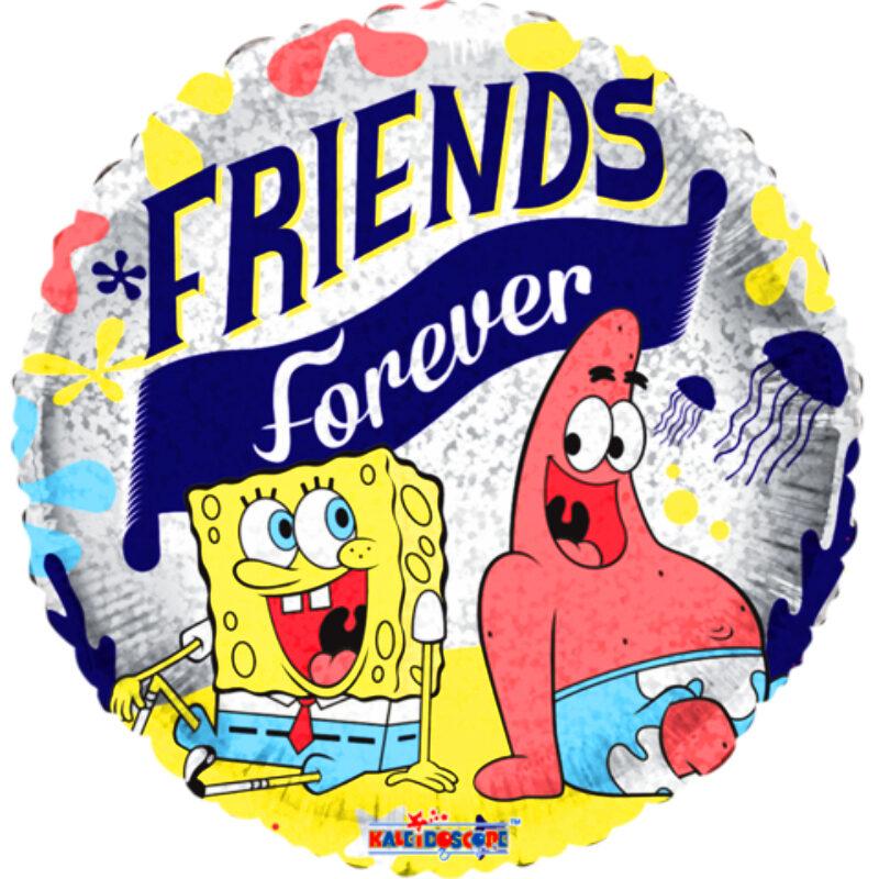 """Globo Metalico San Valentin bob friends forever 18"""""""