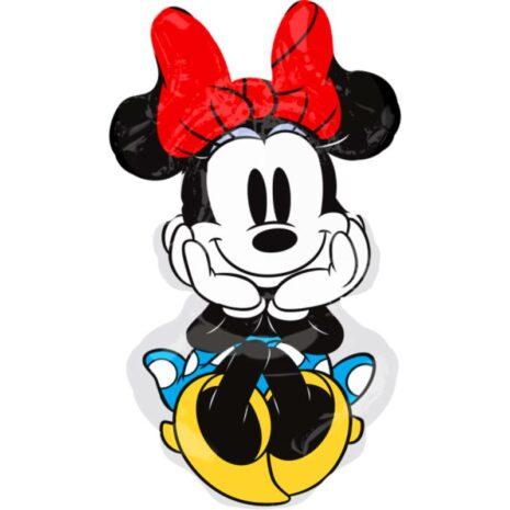 "Globo Metálico Cumpleaños Personaje Minnie mouse 36"" Met"