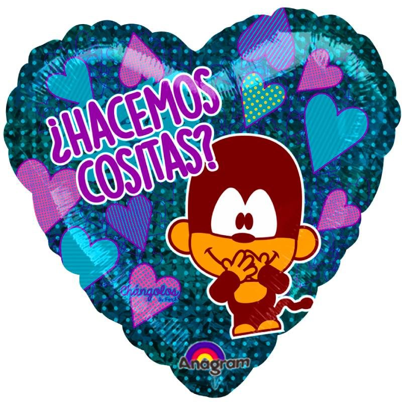 """Globo Metalico San Valentin hacemos cositas? 9"""""""