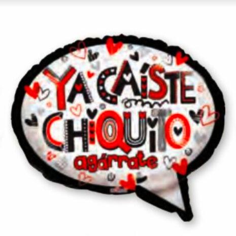 "Globo Metalico San Valentin ya caiste chiquito 18"" Met"