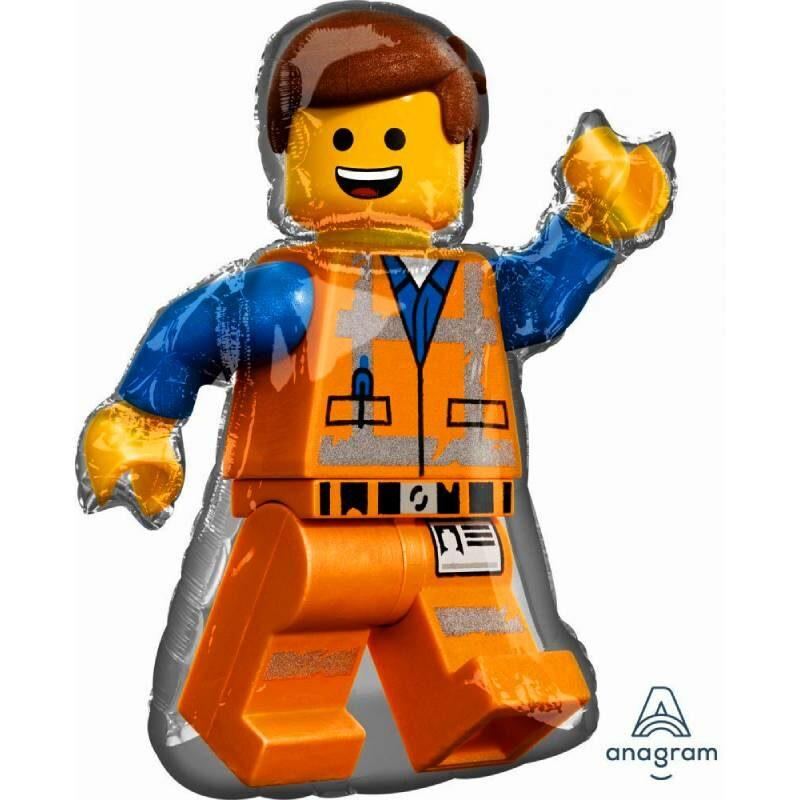 "Globo Metálico Cumpleaños Personaje Lego 36"" Met"