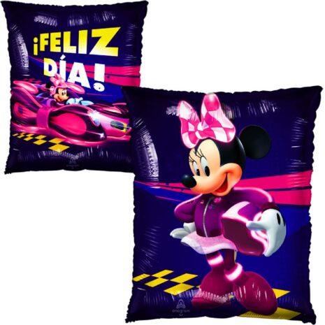 """Globo Metalico Feliz Dia de Minnie 20"""""""