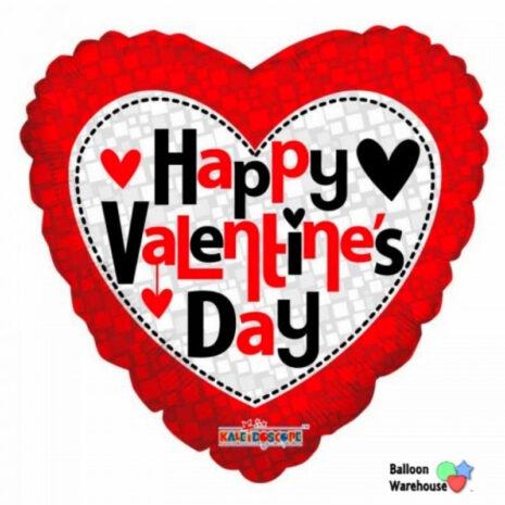 "Globo Metalico San Valentin happy valentines day cuadros 18"" Met"