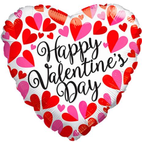 "Globo Metalico San Valentin happy valentines day 18"" Met"
