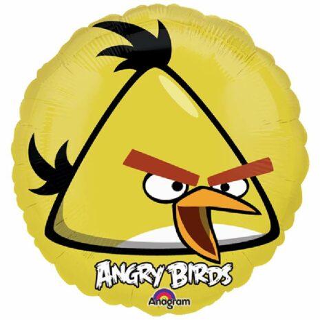 """Globo Metalico Promocion ANGRY BIRDS 18"""""""