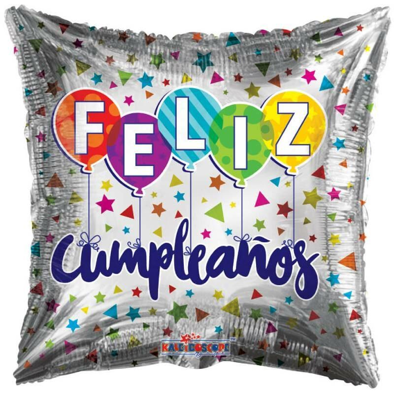 "Globo Metalico Cumpleaños Feliz Cumpleaños 18"""