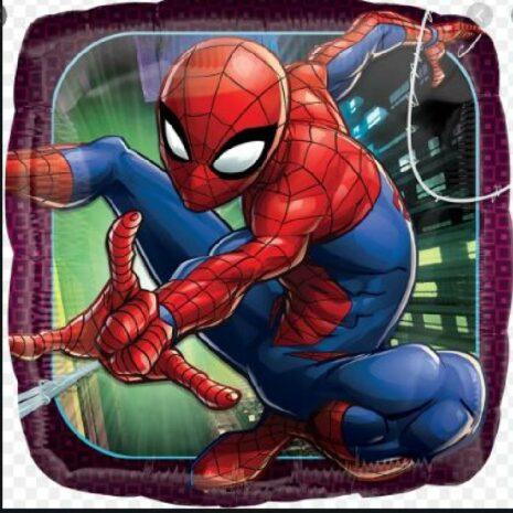 "Globo Metálico Spider Man 09"""