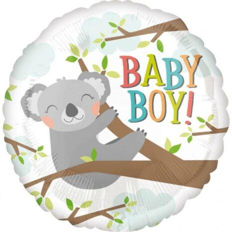 """Globo Metalico Baby Boy 18"""""""