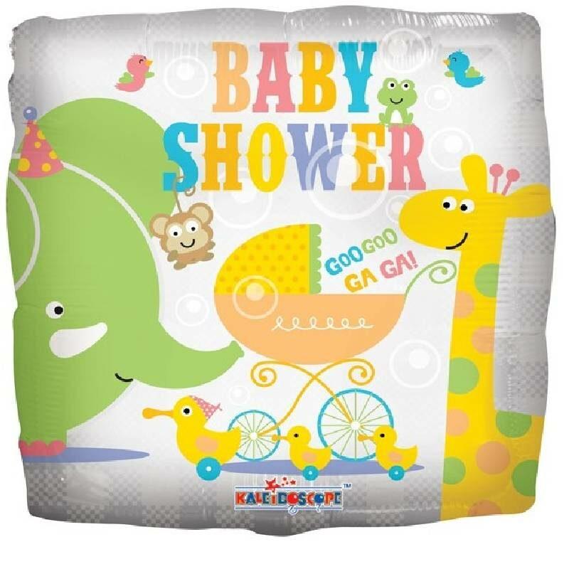 "Globo Metalico Baby Shower 18"""