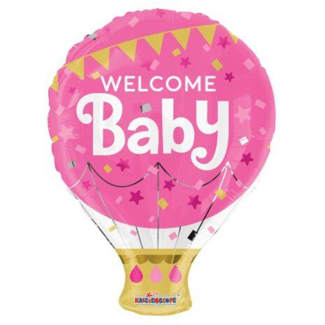 """Globo Metalico Welcome Baby 18"""""""