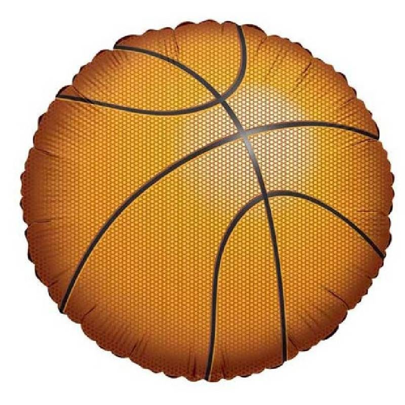 "Globo Metalico Basketball Pelota 18"""