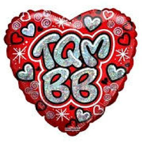 """Globo Metalico TQM Bebe 18"""""""