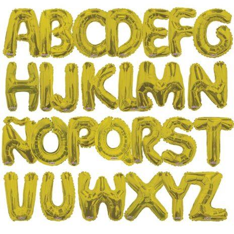 globos-letras-doradas - supershape