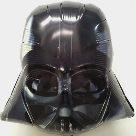 Globo Metalico Darth Vader con Mascara de Cumpleaños, 18 Pulgadas en Forma de Silueta, Marca Anagram