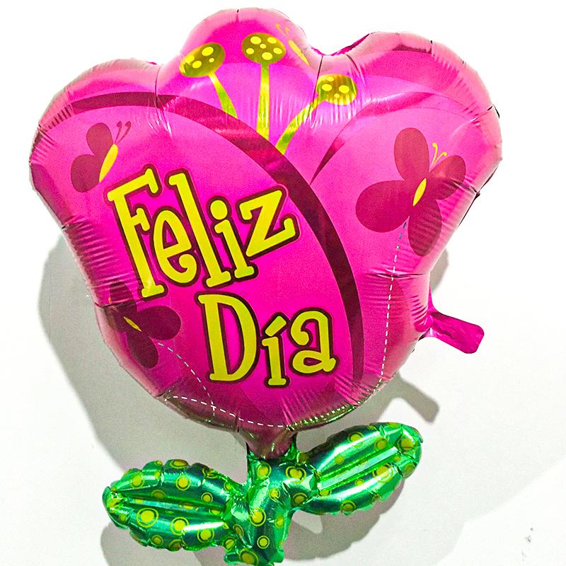 Globo Metalico Happy Birthday Magia Azul de Estrellas de Cumpleaños, 36 Pulgadas en Forma de Ultrashape, Marca Anagram
