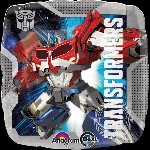 Globo Metalico Transformers Bumblebee de Cumpleaños, 18 Pulgadas en Forma de Cuadrado, Marca Anagram