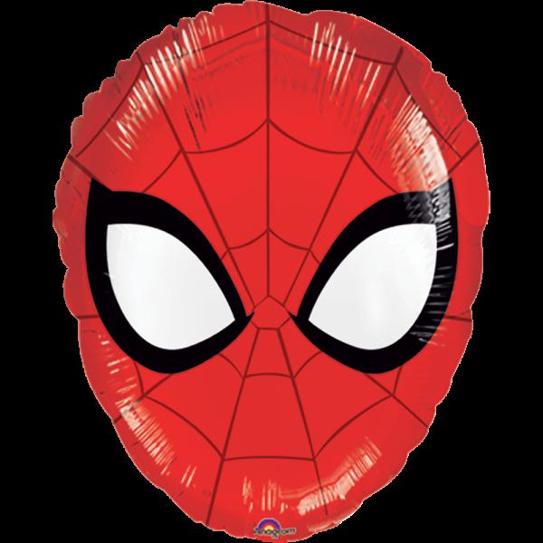 Globo Metalico Spider Man de Cumpleaños, 18 Pulgadas en Forma de Silueta, Marca Anagram