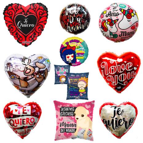 Paquete de Mama #1, Medida 18 Pulgadas, Contenido 100 Piezas, 10 Modelos Diferentes, Marca Anagram y Kaleidoscope